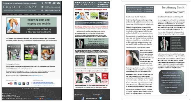 Eurotherapy marketing